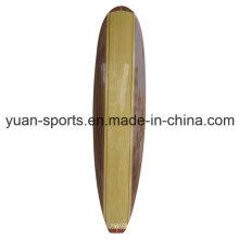 Wood Veneer and Bamboo Veneer Surface Sup Boards Surfboard