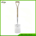 English Traditional Style Stainless Digging Spade