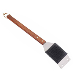 high quality bbq grill brush with scraper