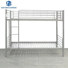 Metal Bunk Bed Twin Over Twin Size with Stairs Heavy Duty Sturdy Frame