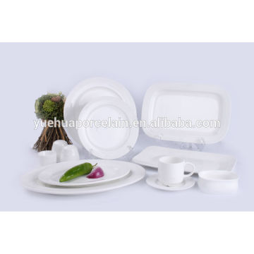 Verschiedene Form Porzellan Geschirr Set