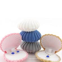 Customized shape personalized design velvet packaging gift box Jewelry storage display jewelry box