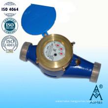 Multi Jet Dry Type Big Size Brass Water Meter