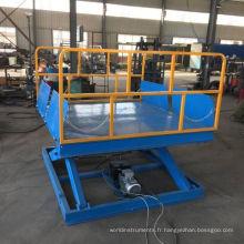 Table élévatrice d'intérieur de ciseaux de cargaison utilitaire approuvée par la CE / ascenseur stationnaire hydraulique de ciseaux