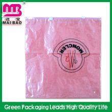 Bolsas plásticas de la cerradura de la cremallera para el embalaje de la ropa de fábrica
