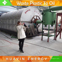 8/10 TPD Mini Projects For Waste Tire Fuel Oil Machine