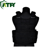 Gilet fait sur commande d'armure de preuve de balle de veste balistique de kevlar d'armure militaire de corps pour l'usage d'armée