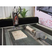 Machine à gravier 3D en pierre cnc à rotation