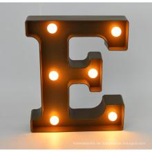 Neue Plastik LED Buchstabe für Hauptdekoration