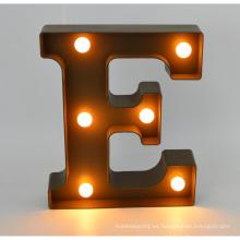 Nueva carta plástica del LED para la decoración casera
