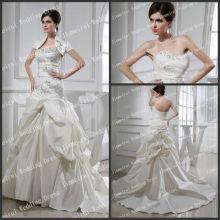 Chritmas Holiday Sale Strapless A-line Casaco estilo original 2013 Vestidos de noiva Imagem real
