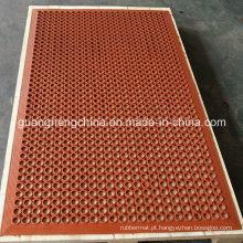 Tapetes de borracha anti-estática antiderrapante Tapete de borracha anti-estática de resistência ao óleo Tapete anti-fadiga