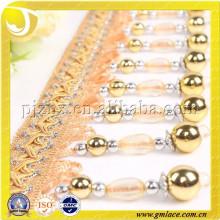 2015 STOCK Curtain Tassel Bead Fringe Trims для занавеса с четырьмя цветами, изысканным качеством изготовления и дешевой ценой,