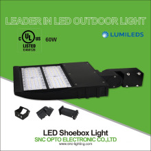 UL cUL listed Leader in outdoor lighting factory sell 60w SNC led shoe box light