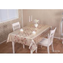 Hochzeitsfest PVC Gold Tischdecke Geprägte Tischdecke