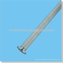 Cortina de accesorios-tapa de la cortina de hierro (tamaño pequeño) para el carril de fondo redondo de la ventana de persiana enrollable accesorio