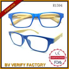 Gafas de lectura personalizados madera bambú R1594