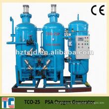 Ensemble complet de générateur d'usine d'oxygène à gaz PSA fabriqué en Chine