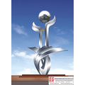 Garden Customer Stainless Steel Sculpture