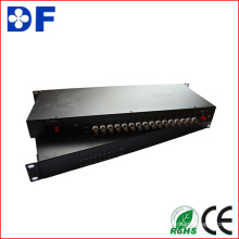 Transceptor de video óptico de audio / datos / Ethernet 16CH Cvi / DVI