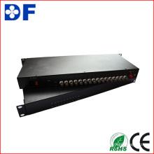 16CH Cvi / DVI Áudio / Dados / Ethernet Transceptor de Vídeo Óptico