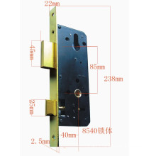 , Wood Door Lock Body, Bathroom Lock Body, Rim Lock Body, Lock Body Al-8040