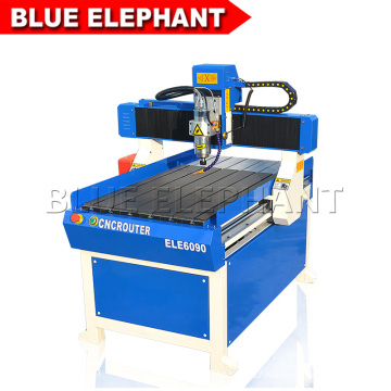 Best selling small cnc router machine for aluminum 6090 with high speed