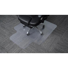 Plastic floor office Chair Mats Nailed