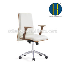 HY5101Foshan Haiyue 2017 New products mid back plywood frame leather seat leisure office chair