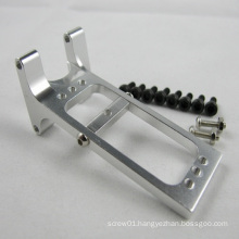 Customized diamond cut Aluminum Rear arms