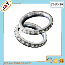 24k luxury diamond curtain rod eyelet ring
