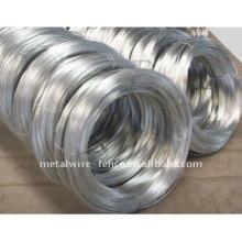 El alambre galvanizado electrited (alambre de hierro del acero de carbón bajo)