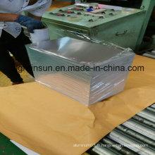 Feuille d'aluminium avec film ou papier