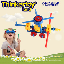 Educational Toy for Kids DIY Craft Themed Helicopter