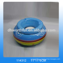 Керамическая пепельница на заказ, керамическая пепельница с логотипом для оптовой продажи