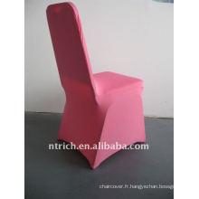 housse de chaise en spandex rose / rose vif, CTS684, pour toutes les chaises