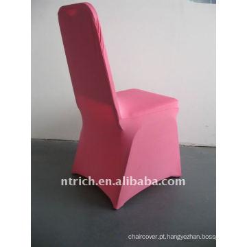 tampa da cadeira de spandex rosa / rosa quente, CTS684, apto para todas as cadeiras