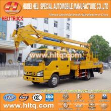 Japan technology 4*2 12m 14m truck-mounted scissor lift good quality hot sale