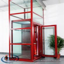 Pequeño ascensor panorámico de cristal de observación de Larsson para visitas turísticas