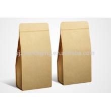 Factory Custom Eco-Friendly Sac de papier Kraft bon marché pour le cadeau d'achat