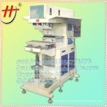 max printing size 275x 500mm pneumatic big pail lip pad printing machine for one color
