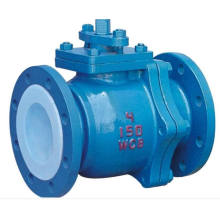 Wcb Flanged Stainless Steel Ball Valve with High Platform