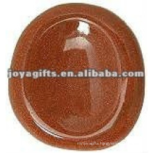 Gold stone Worry stone thumb