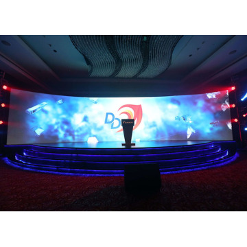 Indoor Curved LED Display for stage