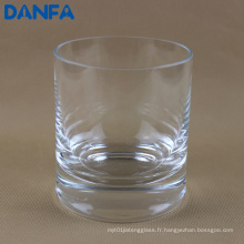 Coupe en verre soufflé à main de 12 oz / 360 ml