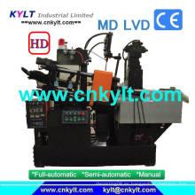 Full-Auto PLC máquina de moldeo por inyección de cámara caliente Inyección Unidad