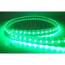 Underwater Green 5050SMD 60LEDs IP68 LED Strip 12V DC em Branco Quente 2800k - 3200k