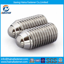 Stainless steel socket set screw with ball point