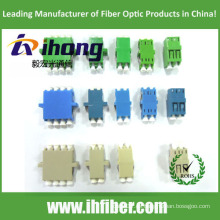 SC LC ST FC Adaptador de fibra óptica