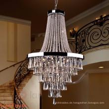 Moderne Waterford Kristallleuchter pendelleuchte Beleuchtung für Hotel 71092
